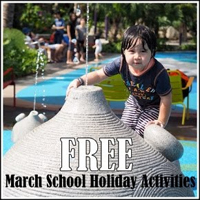 FREE March School holiday activities