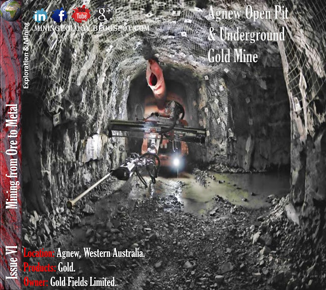 Agnew Open Pit & Underground Gold Mine