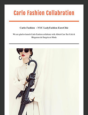 Carlo Fashion Collabration