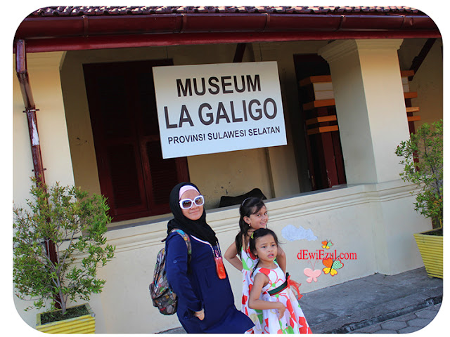dewi Handayani, dewi zul,HTM Museum Galigo,dimana itu Museum Galigo
