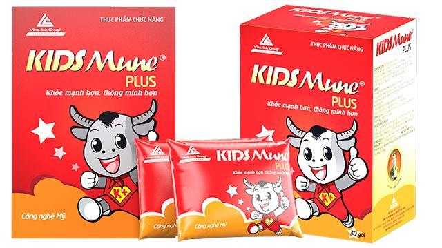 kidsmune plus - Hết biếng ăn, tăng cường đề kháng