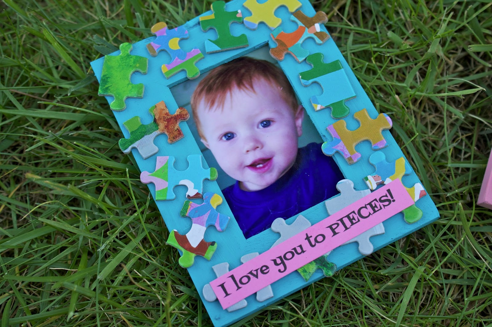Sowdering About: I love you to PIECES; a Mother\'s Day craft