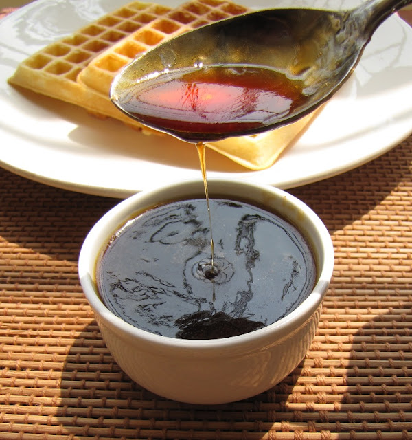 ... Yummy Recipes: Celebrate A Party with Homemade Waffle & Maple Syrup