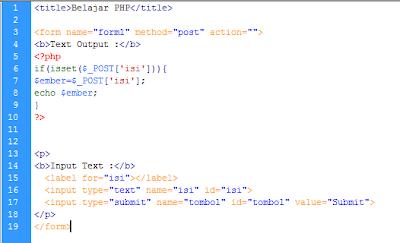 Belajar Web PHP