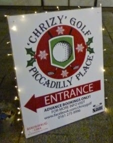 Christmas + Crazy Golf = Chrizy Golf