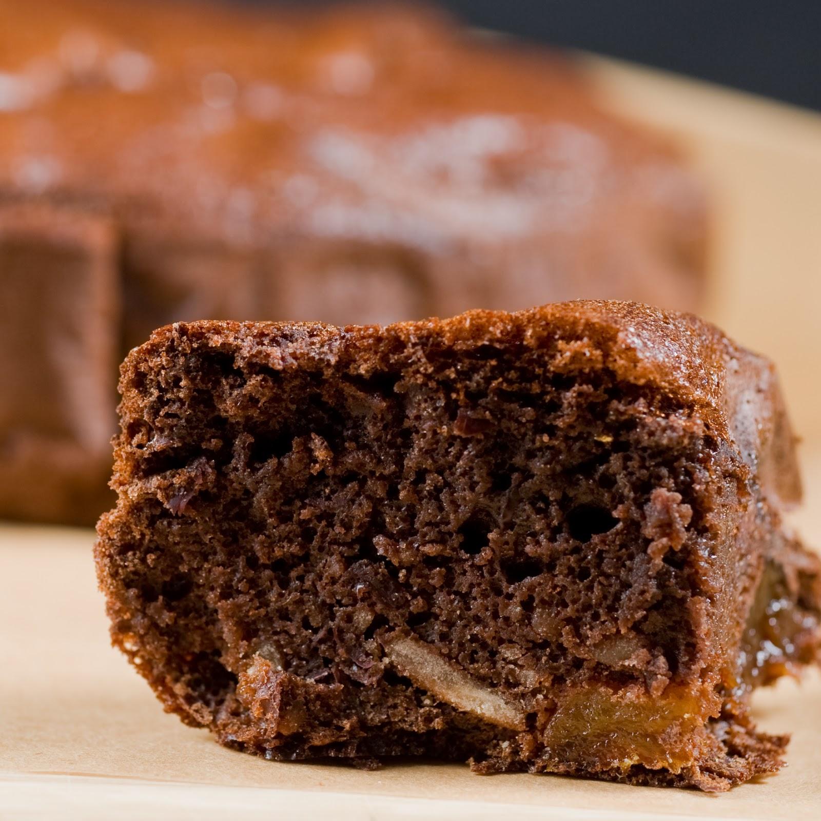 Czekoladowe ciasto z fasoli