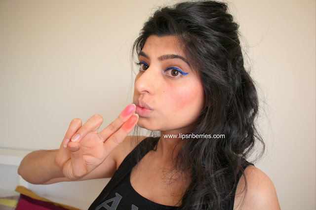 NYX Powder Blush on Indian skin