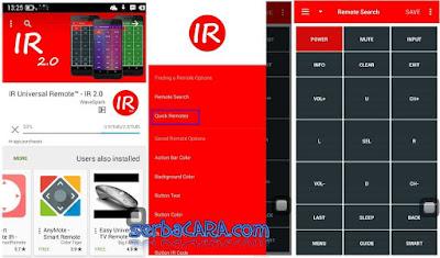 Android Menjadi Remot TV