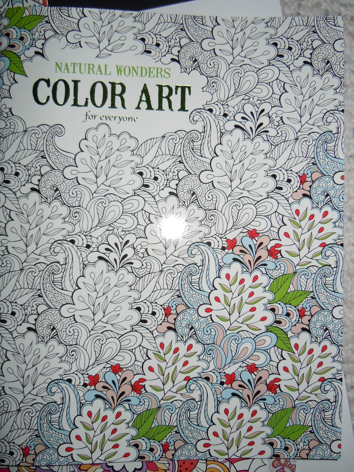 Color art floral wonders - My First Thought When I Received The Coloring Books Is How Great This Would Be When I Sit With My Grandkids And They Are Coloring In Their Coloring Books