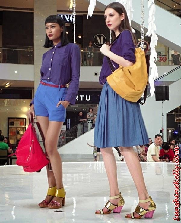 Carlo Rino Spring Summer 2014 Collection, Carlo Rino Spring Summer 2014, Carlo Rino, Handbag, Shoes, Pavilion Pitstop Fashion Show, Pavilion Pitstop, Fashion Show, Fashion Trend