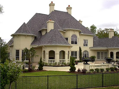 Rumah unik Mewah model barat