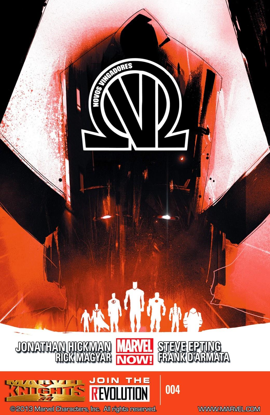 Nova Marvel! Os Novos Vingadores #4