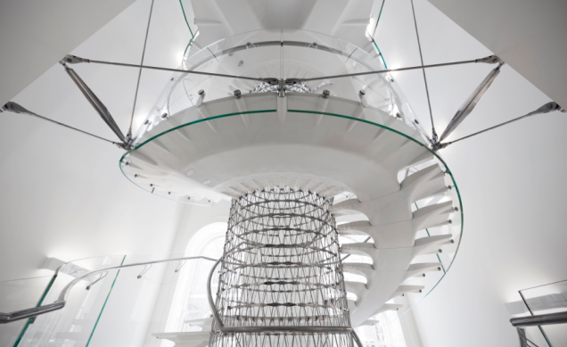 The Miles Stair, en la Somerset House, Londres - por Techniker