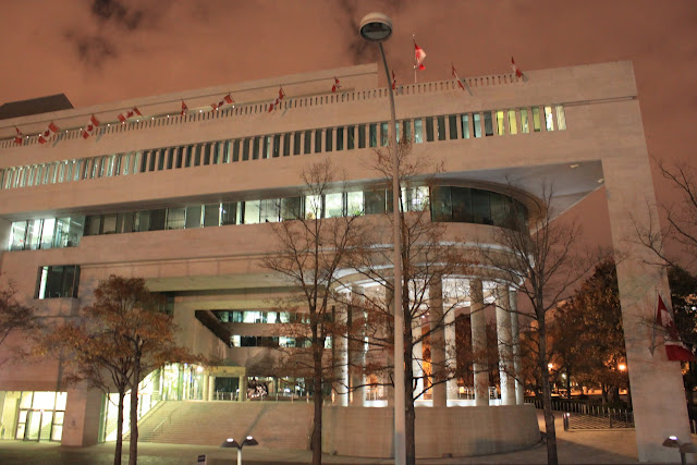 Canadian Embassy is the only Embassy building located within the Government Administration Buildings in Washington DC, USA