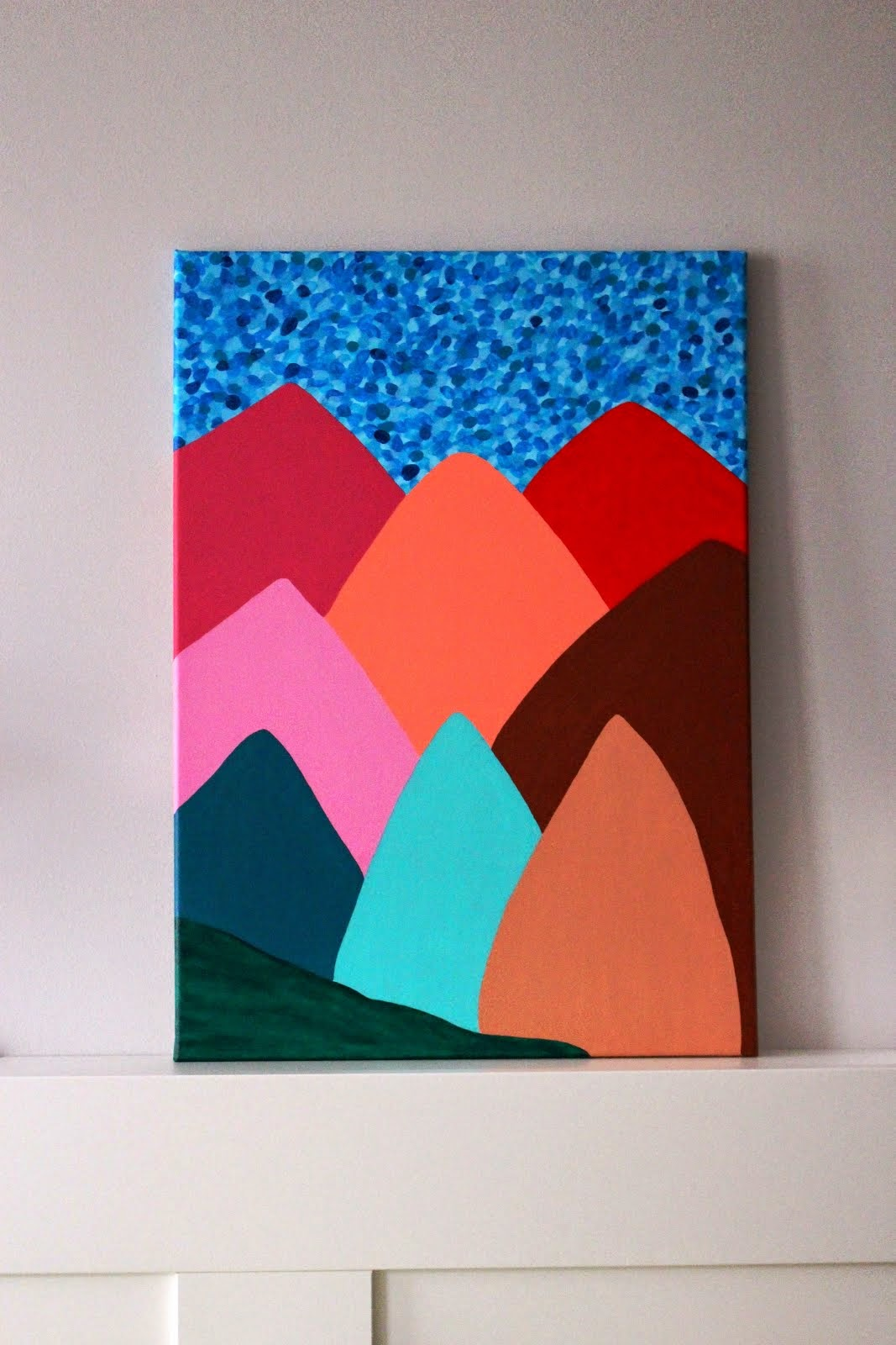 *colourful mountains*