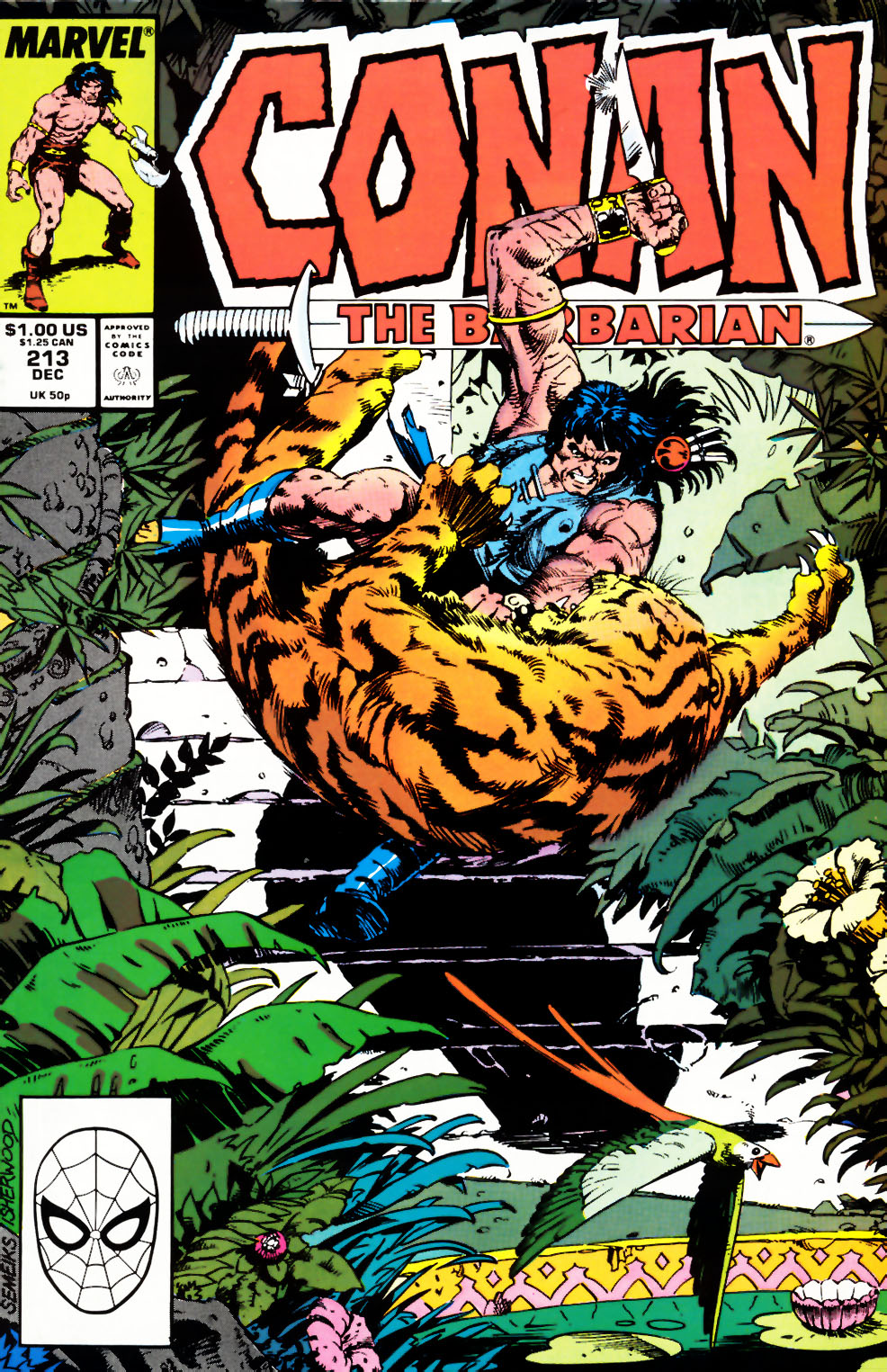 Conan the Barbarian (1970) Issue #213 #225 - English 1