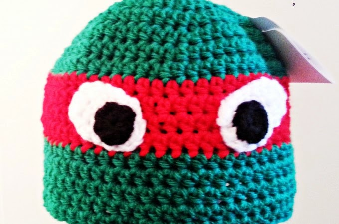 Repeat Crafter Me: Crochet Ninja Turtle Hat Pattern