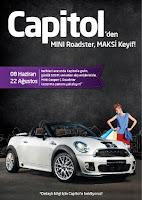 Capitol AVM Mini Cooper S Roadster Çekiliş Kampanyası
