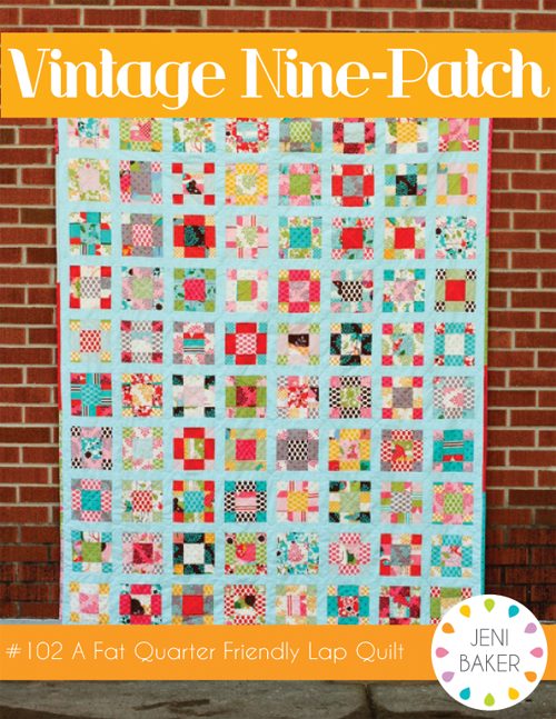 nine patch quilt block instructions