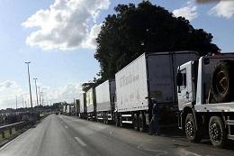 Governo diz que liberou 45% das obstruções feitas por caminhoneiros