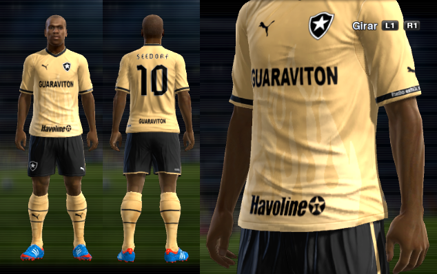 KIT DO BOTAFOGO - PES 2013