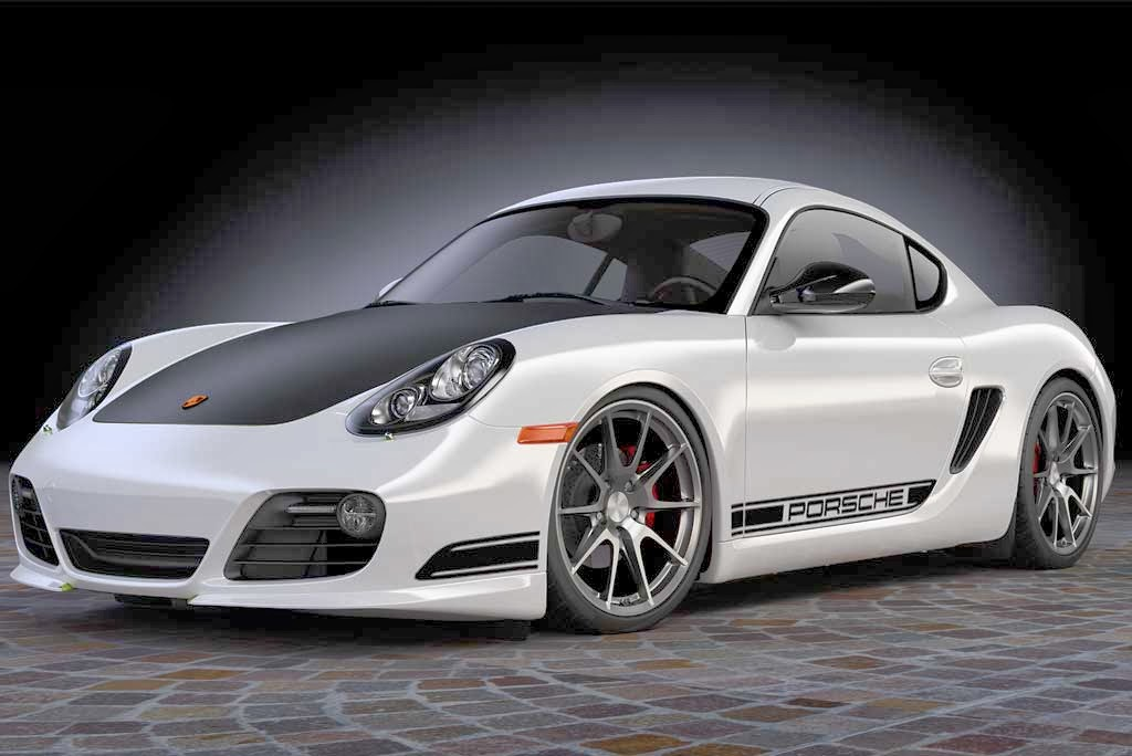 Porsche Cayman Turbochargher Wallpaper Car