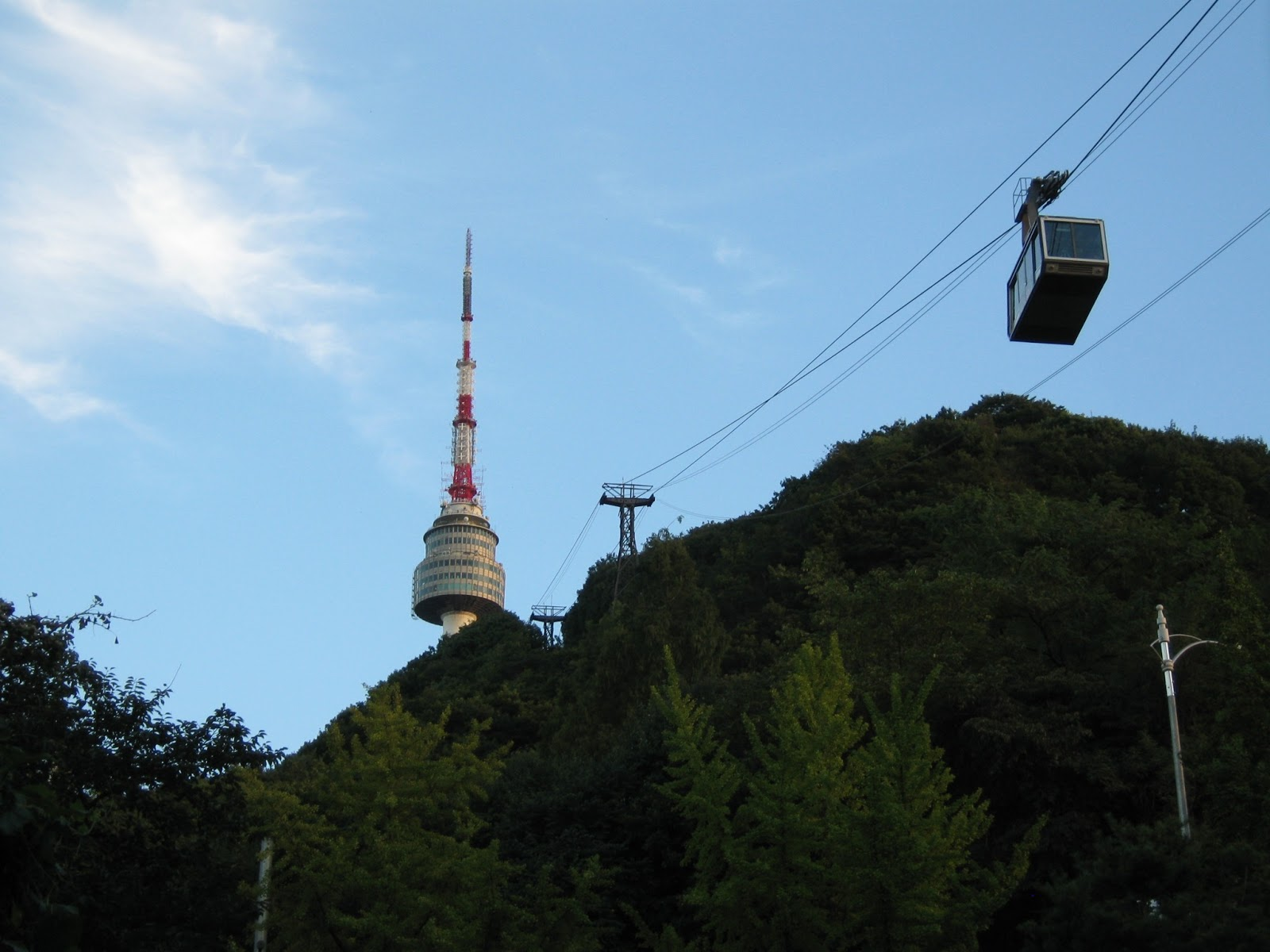 Namsan cable car - Namsan Cable Car