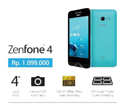 Update Harga ZenFone ASUS