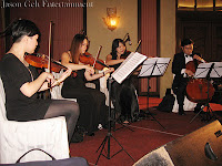 String Quartet performing LIVE at FAPPI's Gala Dinner