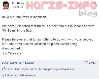 """Mr.Bean Asli Angkat Bicara Perihal Nama Dirinya di Film """"Mr.Bean Kesurupan Depe"""""""
