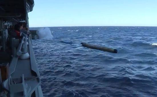 Penembakan torpedo MU90 Australia