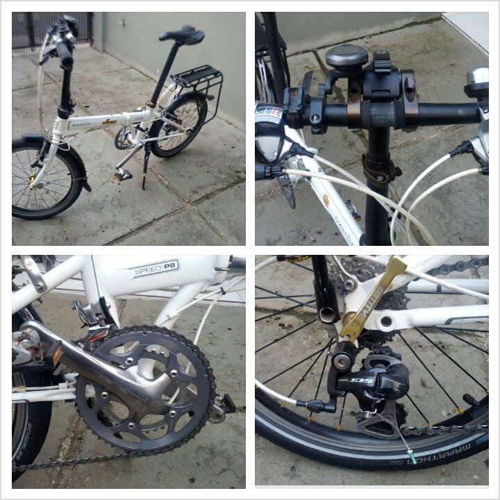 Sepeda lipat Dahon Speed P8 Harga Rp : 4.200.000,- - Toko