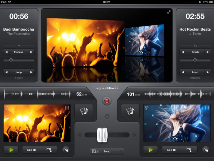 vjay App iTunes App By algoriddim - FreeApps.ws