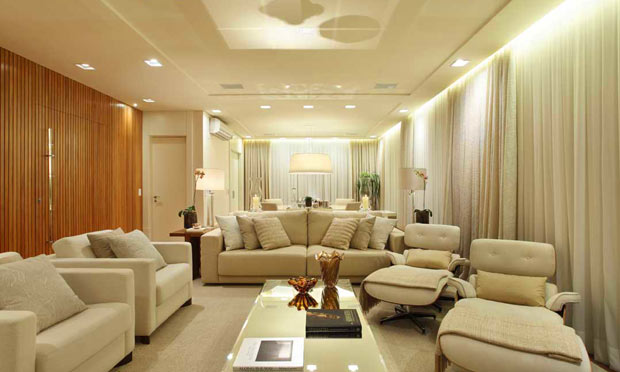 Vanessa campos designer de interiores cortinas - Cortinas para sala ...