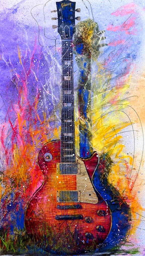 guitarras-pintadas-con-acuarela