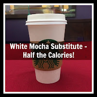 healthy white mocha option