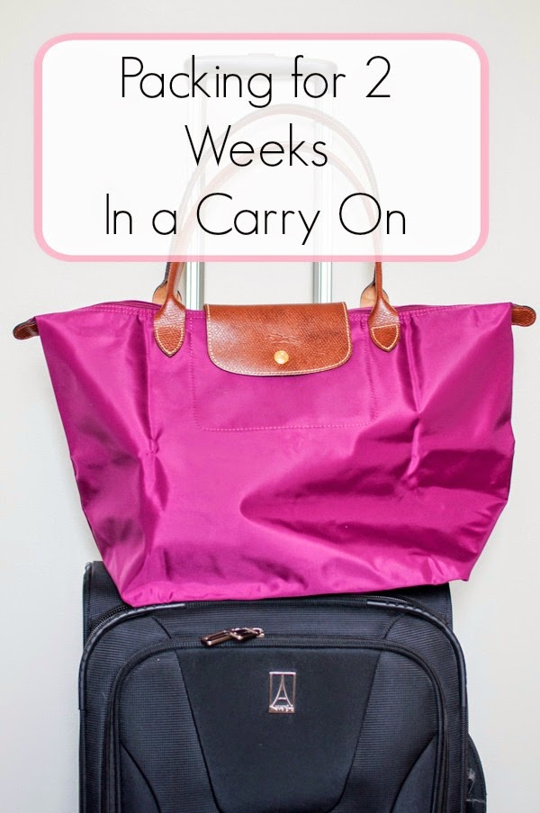 What i packed for 2 weeks in europe using only carry on How to pack a carry on suitcase video