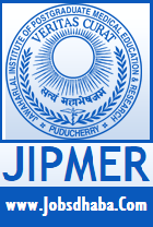 Jawaharlal Institute of Postgraduate Medical Education & Research, JIPMER Recruitment, Sarkari naukri