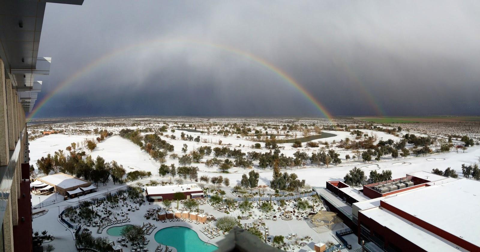 Reminisce Snow In Phoenix
