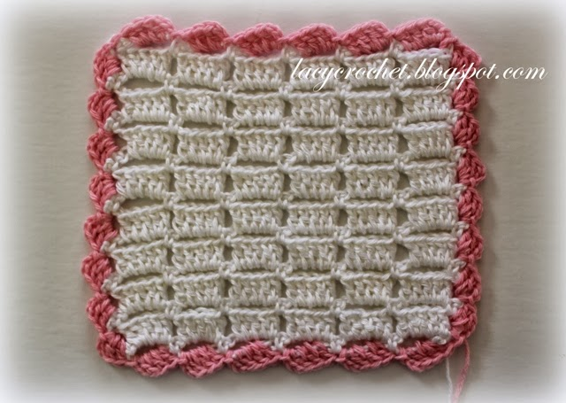 Lacy Crochet Crochet Scalloped Trim Tutorial