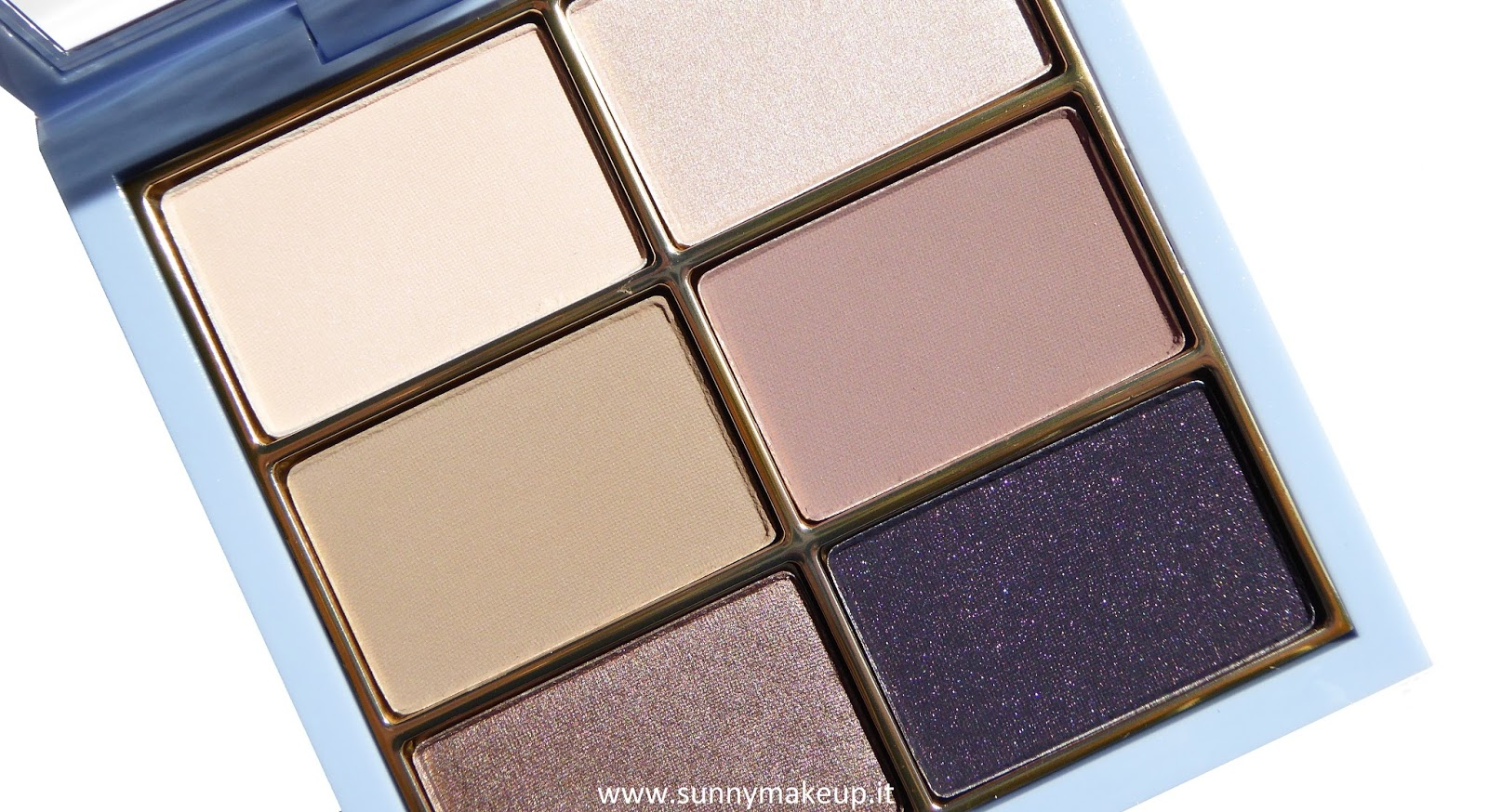 MAC - Cinderella: Swatches e review della palette Stroke of Midnight Eye Shadow x6