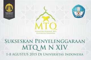 UI Raih Juara Umum Ke-3 MTQ Mahasiswa Nasional XIV - obs
