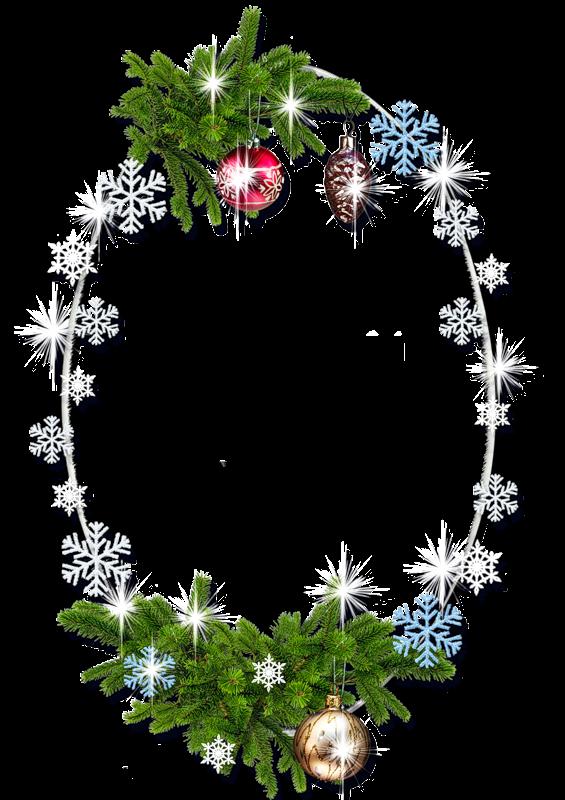 Arte digital: Marcos de navidad