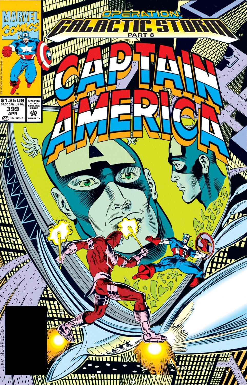 Captain America (1968) Issue #399 #338 - English 1
