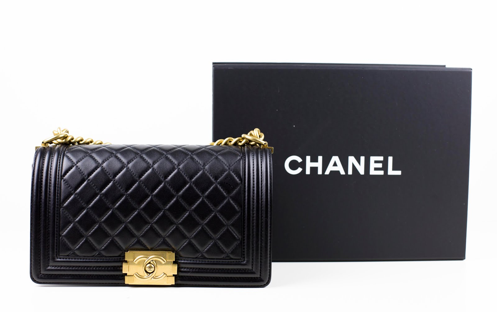NEW CHANEL BOY BAG