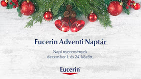 Nyerj minden nap Eucerin ajándékokat karácsonyra!