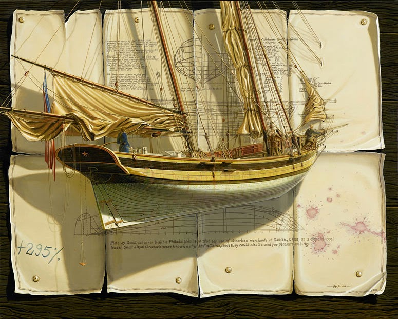 11-Jürgen-Geier-Ships-and-Maritime-Surreal-Paintings-www-designstack-co
