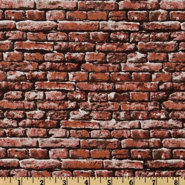 Brick Design Fabric1