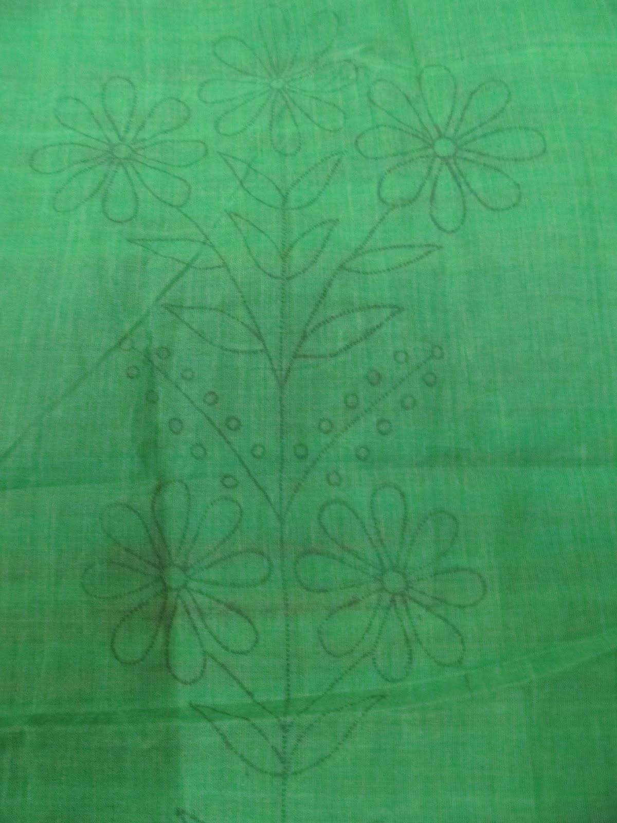 Aamader Blog Hand Embroidered Saree Embroidered Sari
