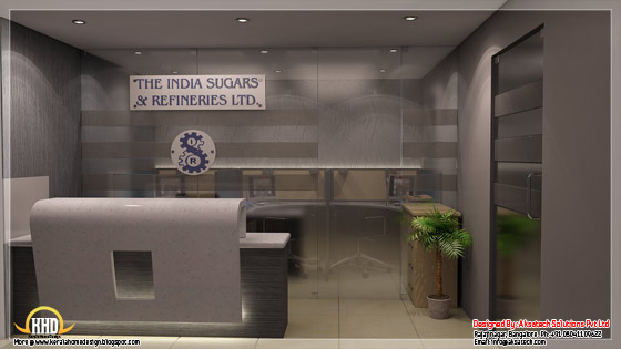 Corporate office interior view 1